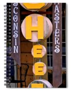 Just Say Cheese Spiral Notebook