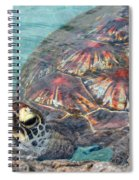 Just Saying Hello Spiral Notebook