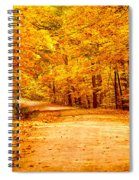 Just Start Walking Spiral Notebook
