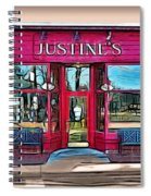 Justine's Ice Cream Parlour Spiral Notebook