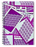 K And B Playing Cards New Orleans Spiral Notebook