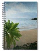 Ka Makani Olu Olu  -  Polo Beach Maui Hawaii Spiral Notebook