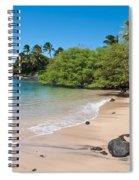 Kahana Beach Spiral Notebook
