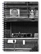 Kalamity Monochrome Spiral Notebook