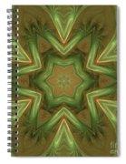 Kaleid Flower Spiral Notebook
