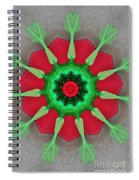 Kaleidoscope Mermaid Spiral Notebook