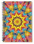 Kaleidoscope Series Number 7 Spiral Notebook