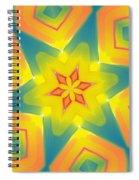 Kaleidoscope Series Number 8 Spiral Notebook