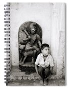 Kali In Benares Spiral Notebook
