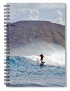 Kaneohe Bay Sufer Mcbh Spiral Notebook