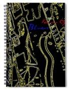 Kansas City Music  Spiral Notebook