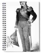 Karl Ferdinand Von Graefe, Plastic Spiral Notebook