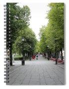 Karl Johans Gate Spiral Notebook