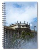 Karlsplatz Fountain Spiral Notebook