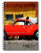 Karmann Ghia Spiral Notebook