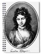 Karoline Michaelis Spiral Notebook