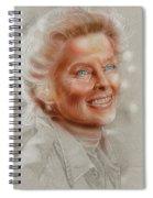 Katherine Hepburn Spiral Notebook