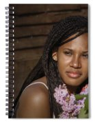 Katie The Beautiful Woman Spiral Notebook