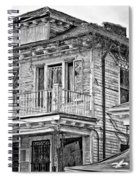 Katrina...seven Years Later Monochrome 2 Spiral Notebook