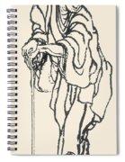 Katsushika Hokusai Spiral Notebook