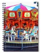 Kauai Carousel At Dusk Spiral Notebook