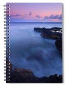 Kauai  Pastel Tides Spiral Notebook