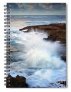 Kauai Sea Explosion Spiral Notebook