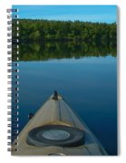 Kayaking Range Ponds 0003 Spiral Notebook