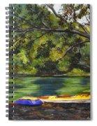Kayaks On The Little Sandy Spiral Notebook