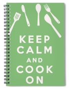 Keep Calm And Cook On Spiral Notebook
