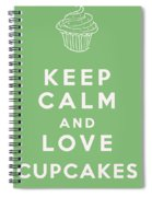 Keep Calm And Love Cupcakes Spiral Notebook
