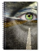 Keep Your Eyes On The Road Spiral Notebook