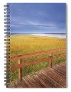 Kellys Beach Boardwalk, Kouchibouguac Spiral Notebook