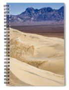 Kelso Sand Dunes 2 Spiral Notebook