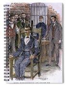 Kemmler Execution Spiral Notebook