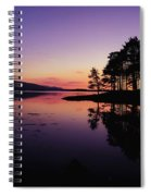 Kenmare Bay, Co Kerry, Ireland Sunset Spiral Notebook