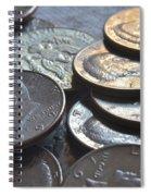 Kennedy Half Dollars I Spiral Notebook