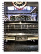 Kennedy Limo Spiral Notebook