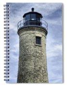 Kenosha Southport Lighthouse Spiral Notebook