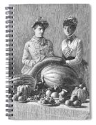 Kentucky: Fair, C1889 Spiral Notebook