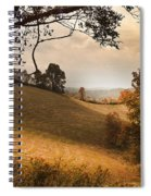 Kentucky Type Hayfields Spiral Notebook