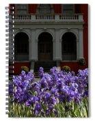 Kew Garden Irises Spiral Notebook