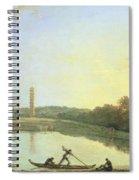 Kew Gardens - The Pagoda And Bridge Spiral Notebook
