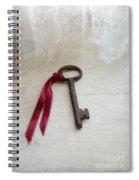 Key On Windowsill Spiral Notebook