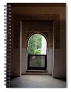 Keyhole Window Spiral Notebook