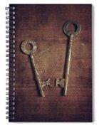 Keys Spiral Notebook