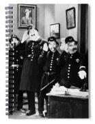 Keystone Cops Spiral Notebook
