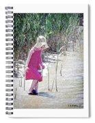 Khloe - Pencil Effect Spiral Notebook
