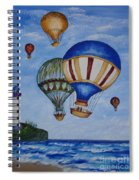 Kid's Art- Balloon Ride Spiral Notebook