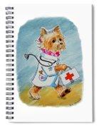 Kids Art Dogtor Spiral Notebook